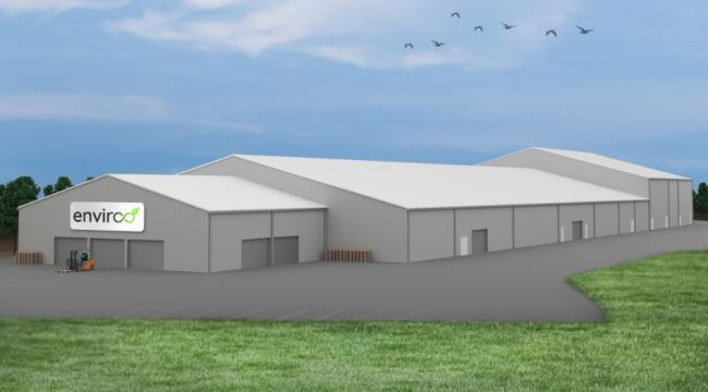 The proposed Enviroo recycling facility.