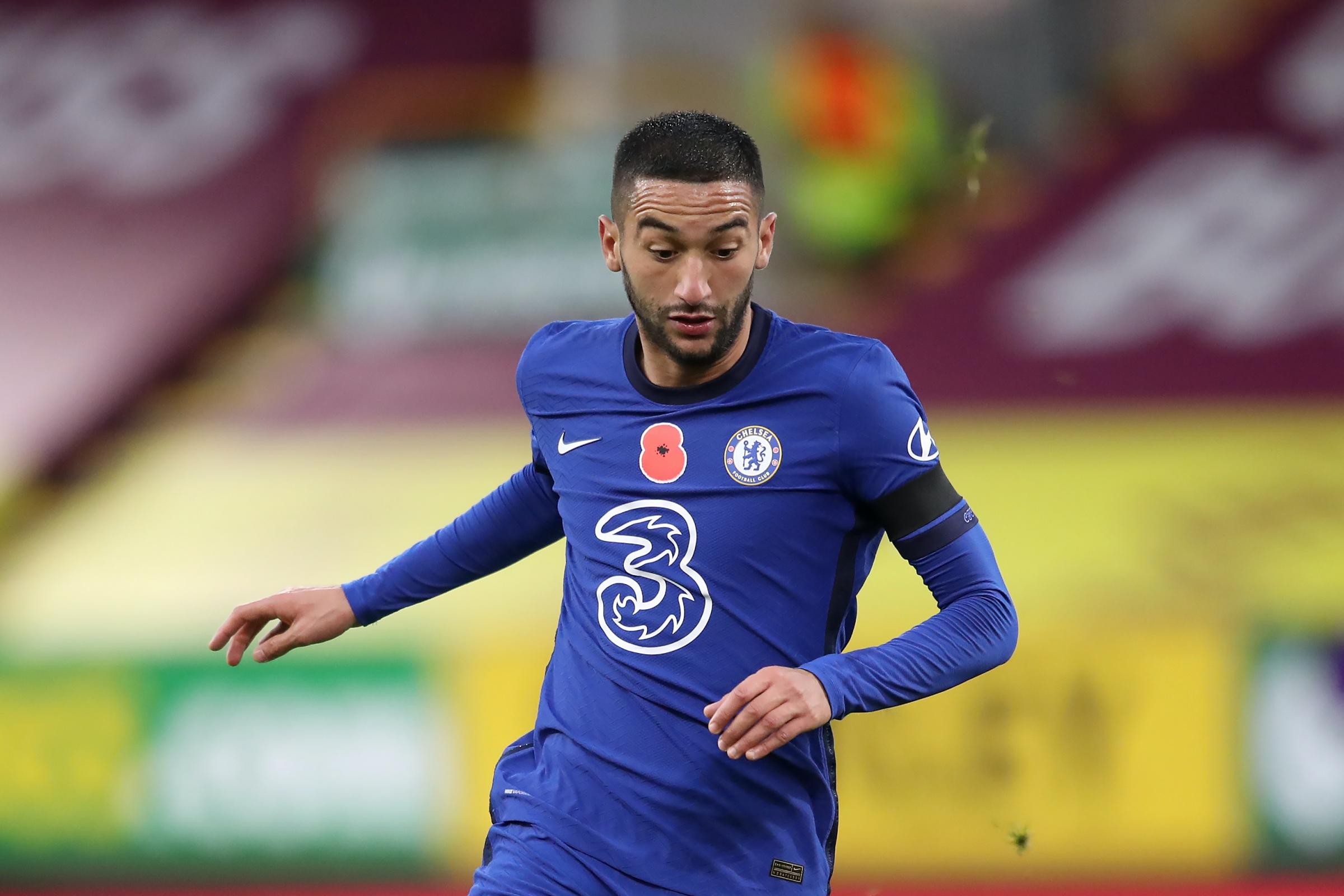 Chelsea creator Hakim Ziyech doesn't need to look twice to pick out killer  pass | Chester and District Standard