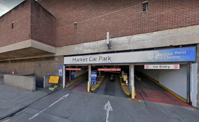 The multi-storey car park in Princess Street, Chester. Pic: Google Street View.