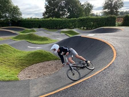 The new BMX track in Waverton.
