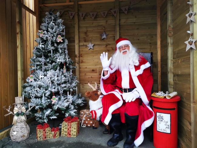 The Ice Cream Farm has launched a drive-thru Santa's grotto experience.