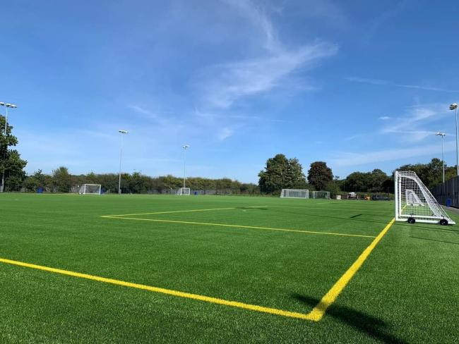 The pitches at The Cheshire County Sports Club look as good as new thanks to funding from the Football Foundation.