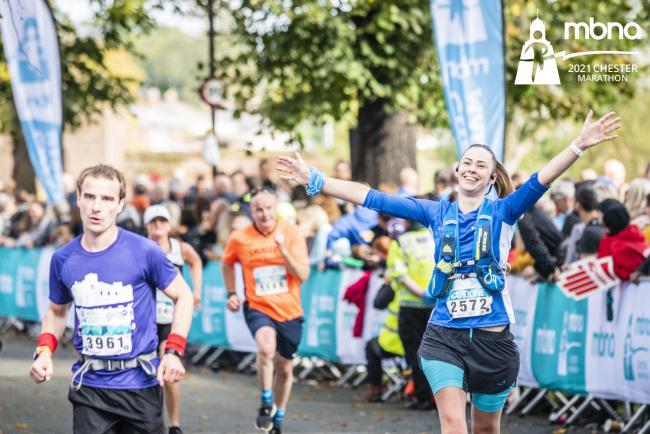 The Chester Marathon has been named as a top UK running event for the third year in a row.