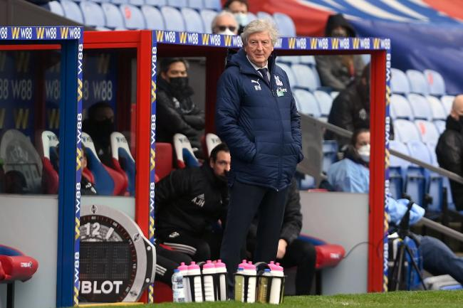 Roy Hodgson is out of contract with Crystal Palace at the end of the season