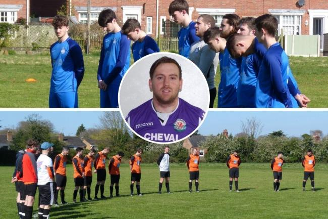 Teams in the Chester & District Sunday Football League paid tribute to Josh Atkins over the weekend.