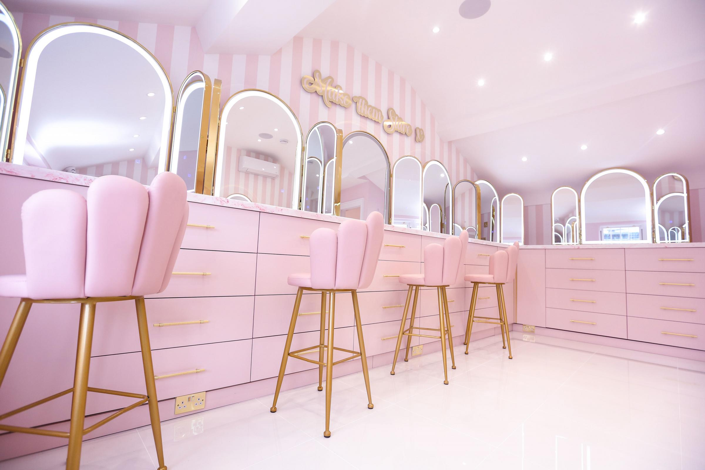 Inside the new Doll Beauty HQ in Chester.