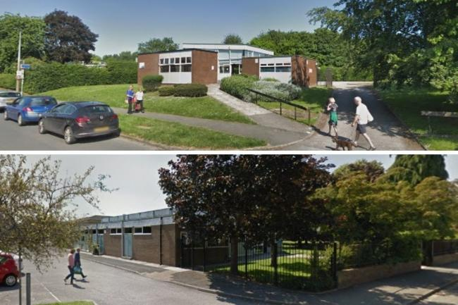 Great Boughton and Hope Farm libraries (Google Street View).