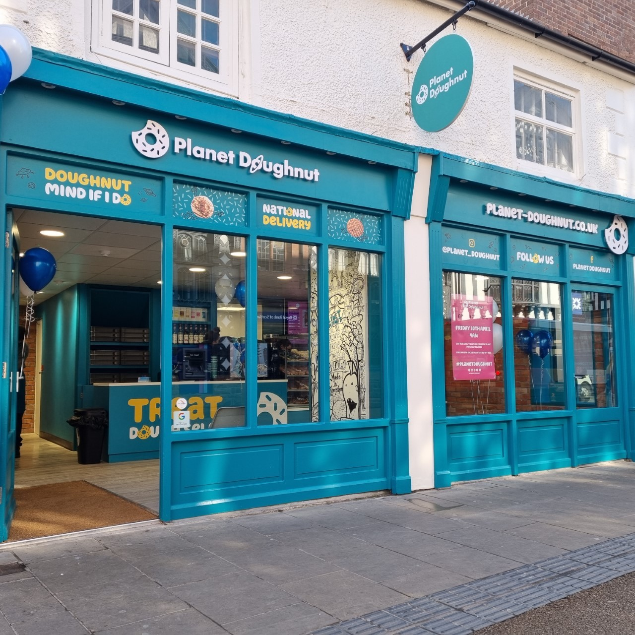 The new Planet Doughnut store in Chester.