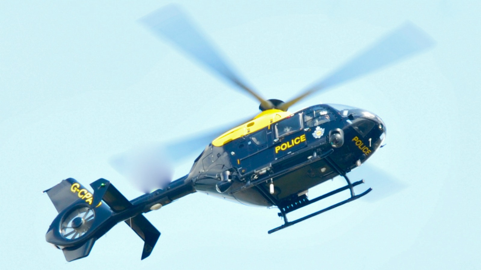 North Wales and Cheshire Police helicopter