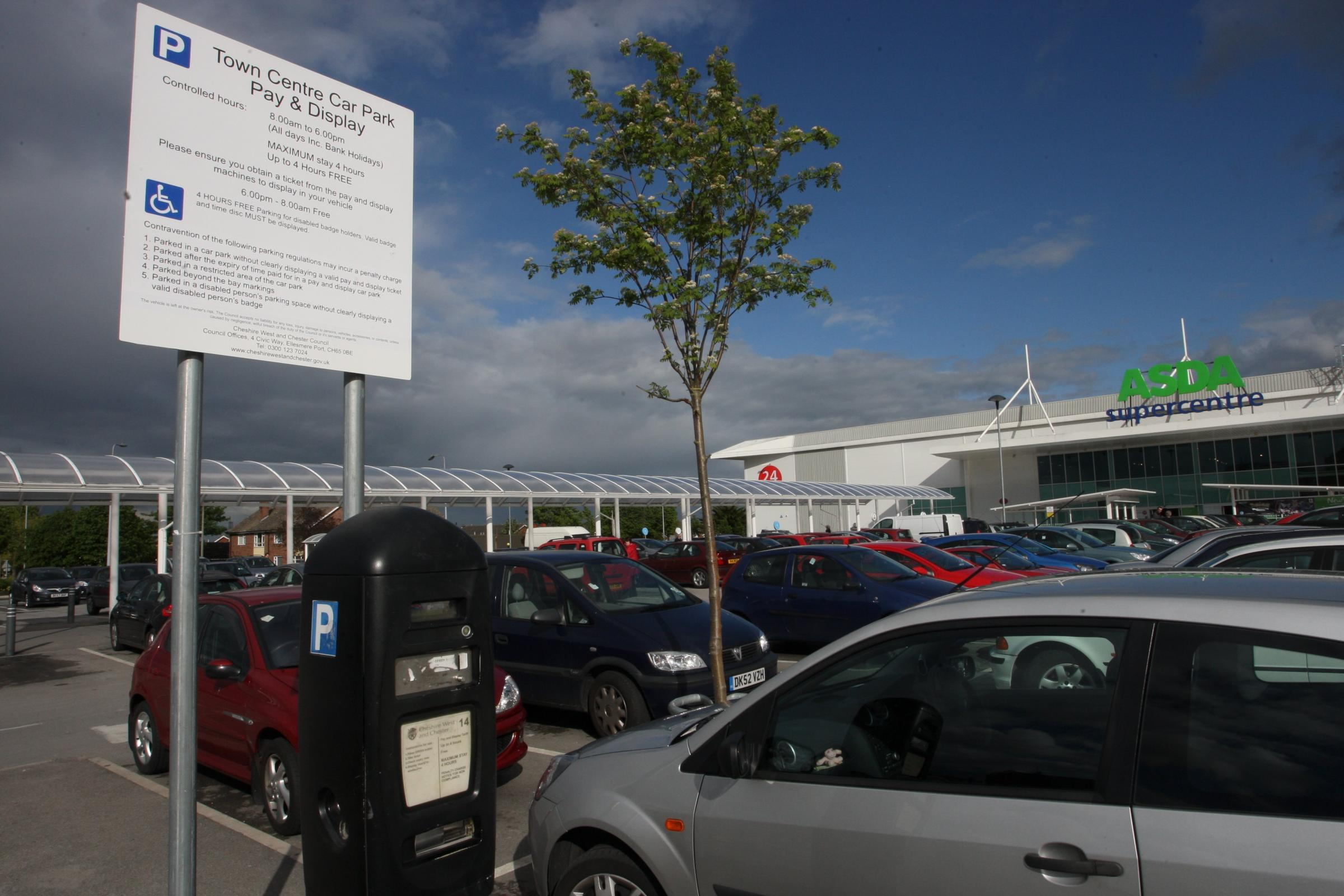 New Parking Charges Revealed For Ellesmere Port Chester And District Standard