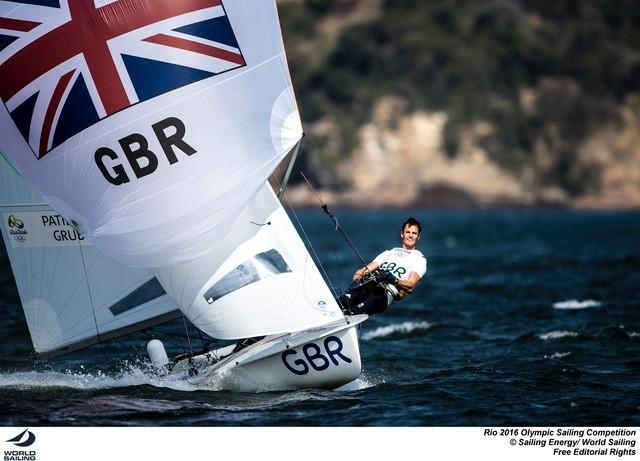 Chris Grube, who sailed for Team GB in the Rion Olympics.
