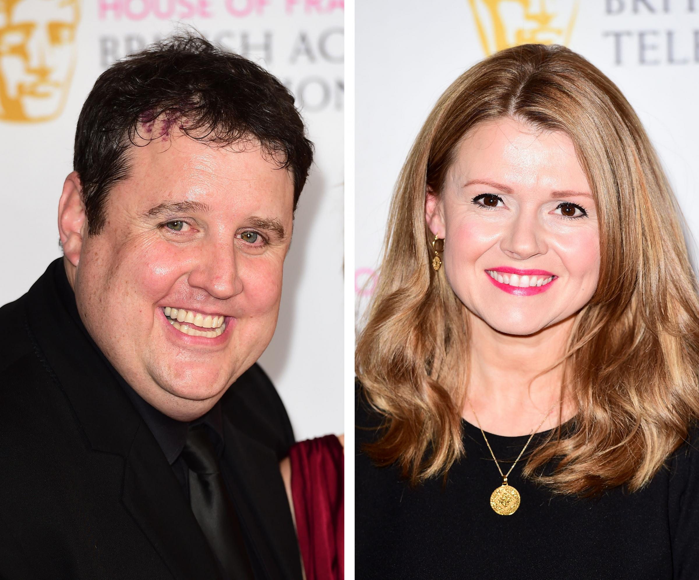 Peter Kay and Sian Gibson.