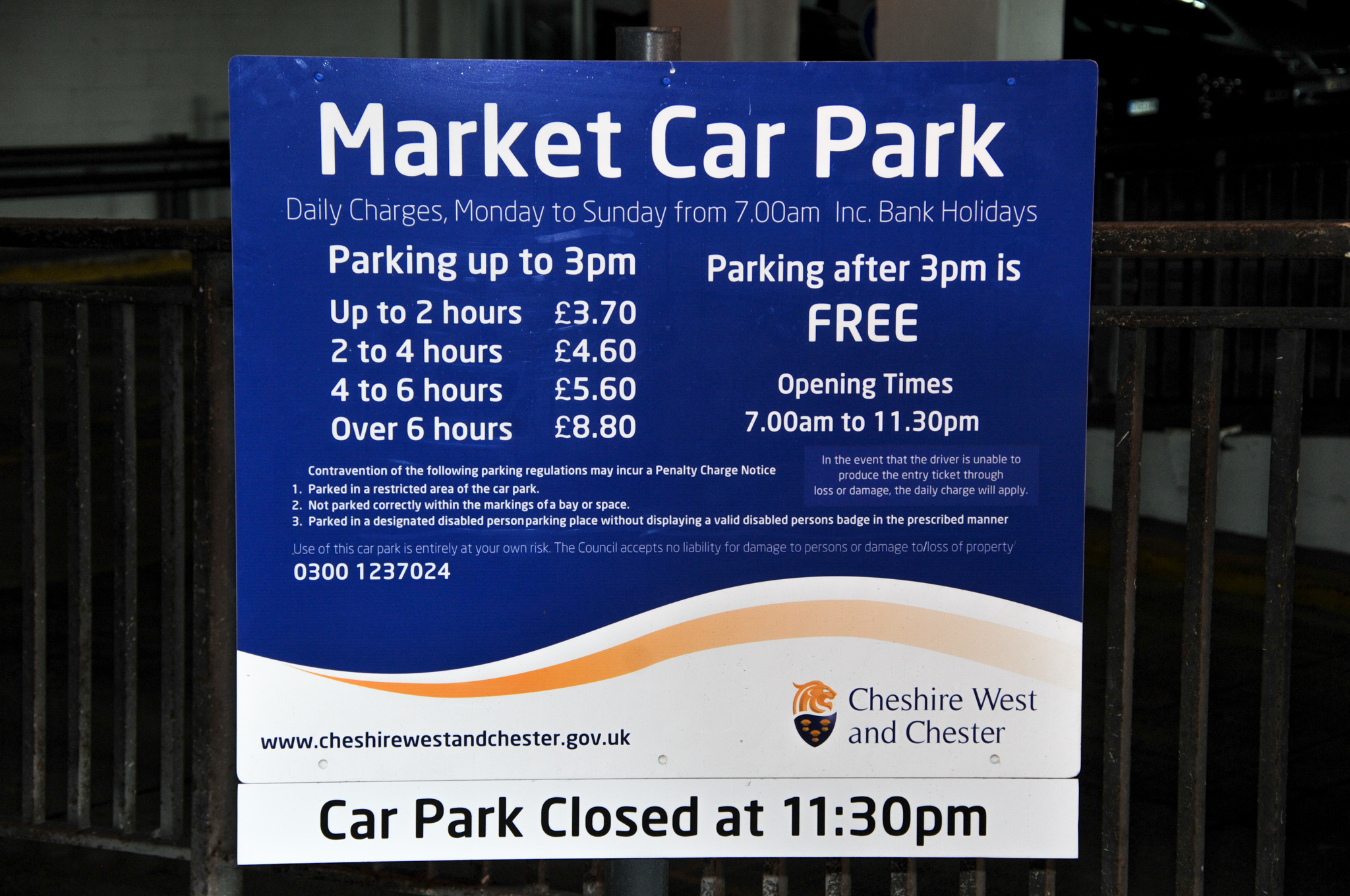 Chester S Free After 3 Scheme Ends As New Parking Charges Kick In Chester And District Standard