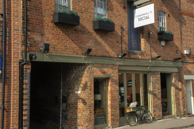 Commonhall St Social is one of the eateries working with SHARE to feed homeless people in Chester.