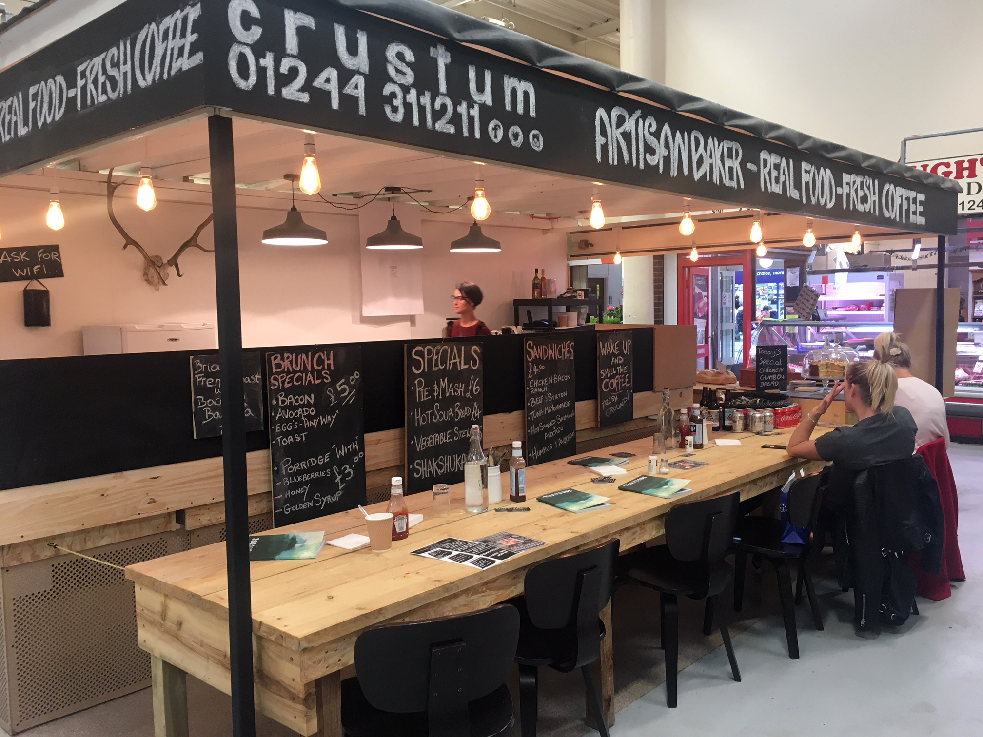 Crustum is one of the latest additions to Chester Market.