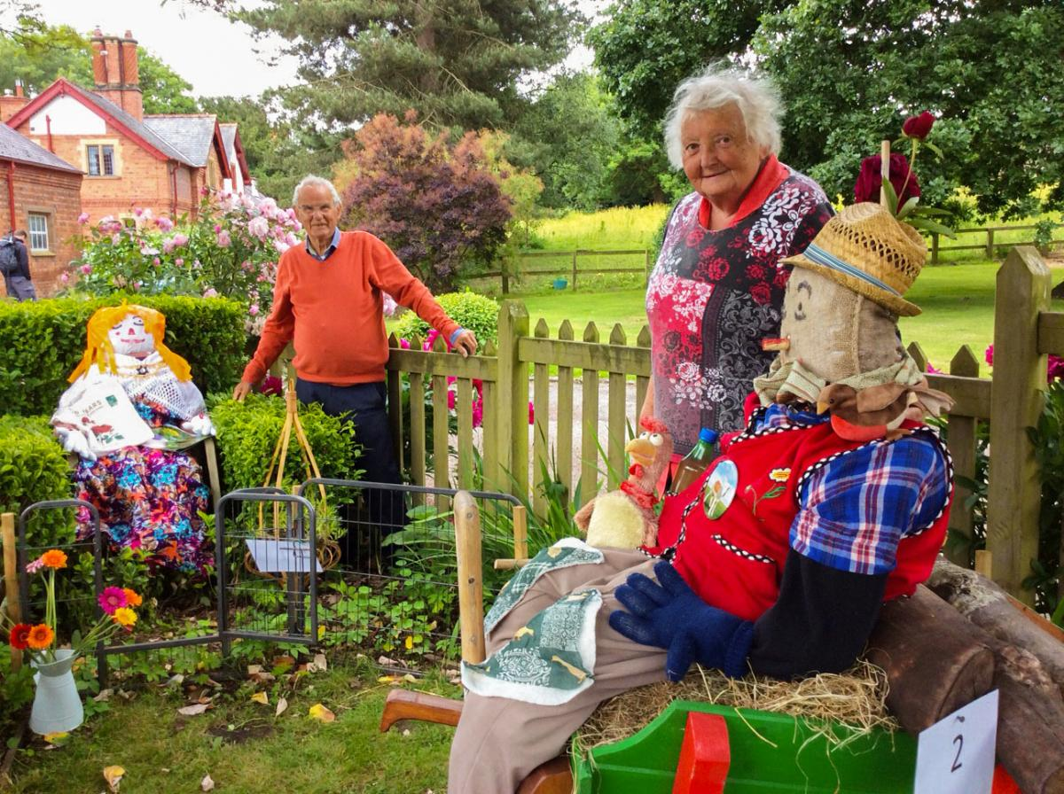 New Scarecrow Trail A Success At Eccleston Village Open Gardens