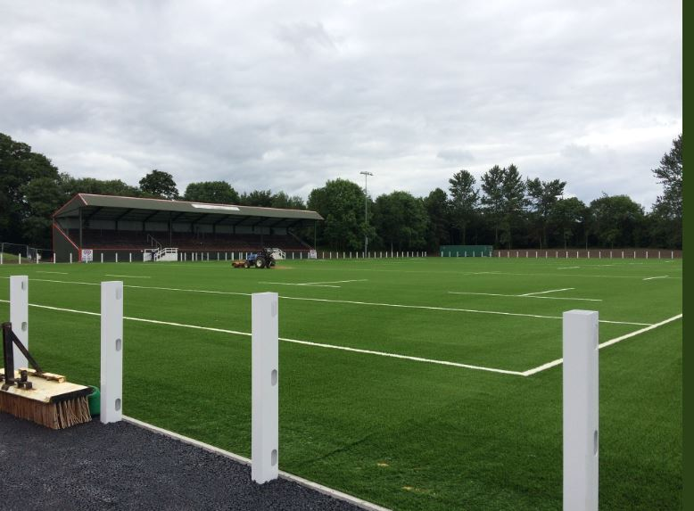 Chester's newly-installed 3G pitch at Hare Lane.