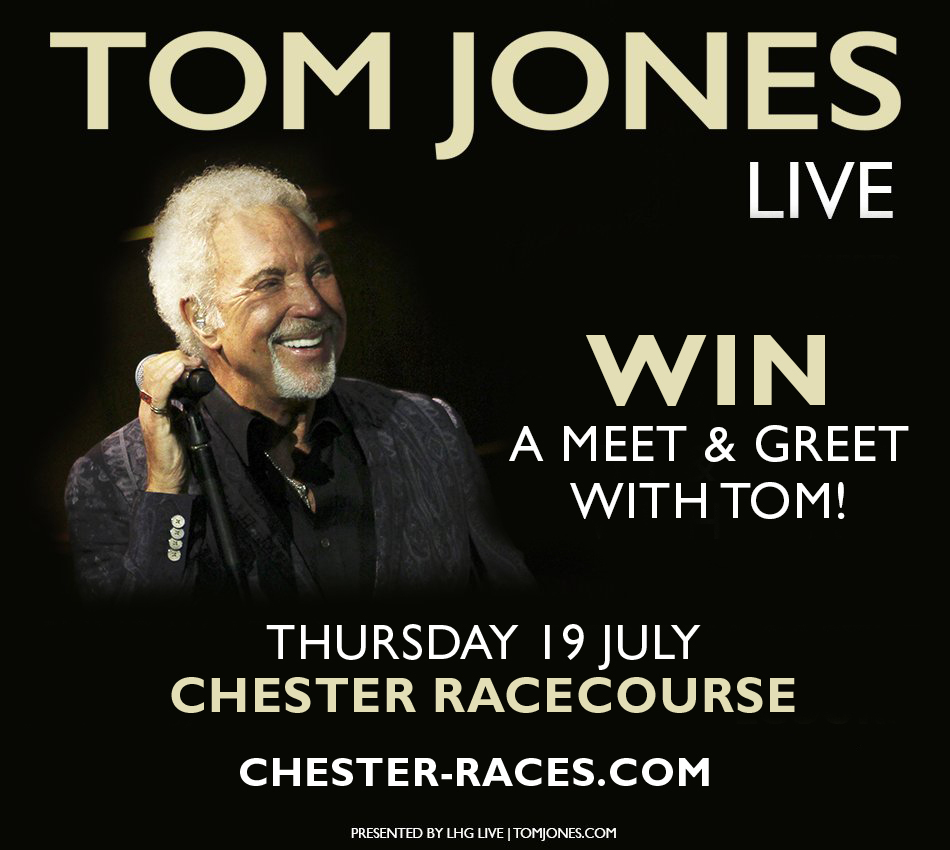 Two lucky readers will have the chance to meet Sir Tom before watching him in action.