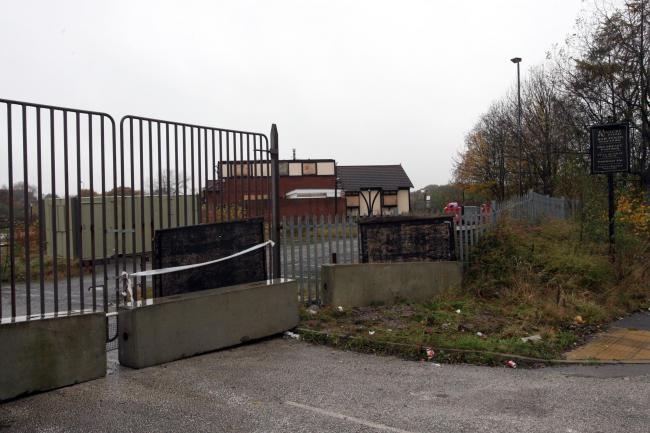Site of the former Foxfields pub in Ellesmere Port
