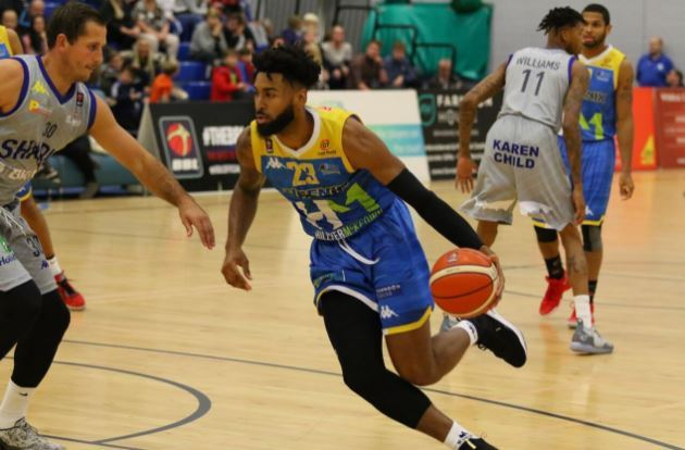 Cheshire Phoenix v Sheffield Sharks. Photo: Adam Day