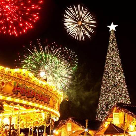 Cheshire Oaks will switch-on its Christmas lights tonight. - Cheshire Oaks: Christmas Lights Switch-on And Fireworks Bonanza
