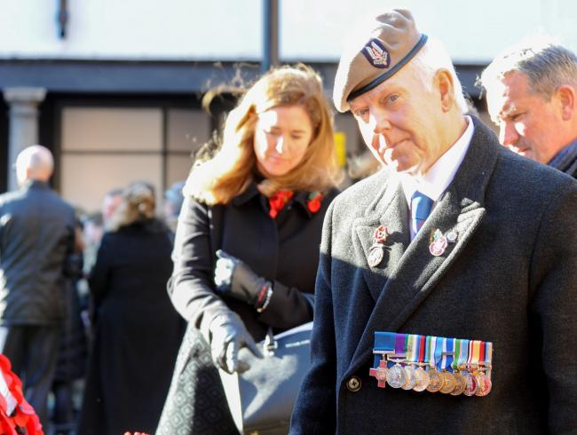 Man at Chester's Remembrance service is not a recipient of