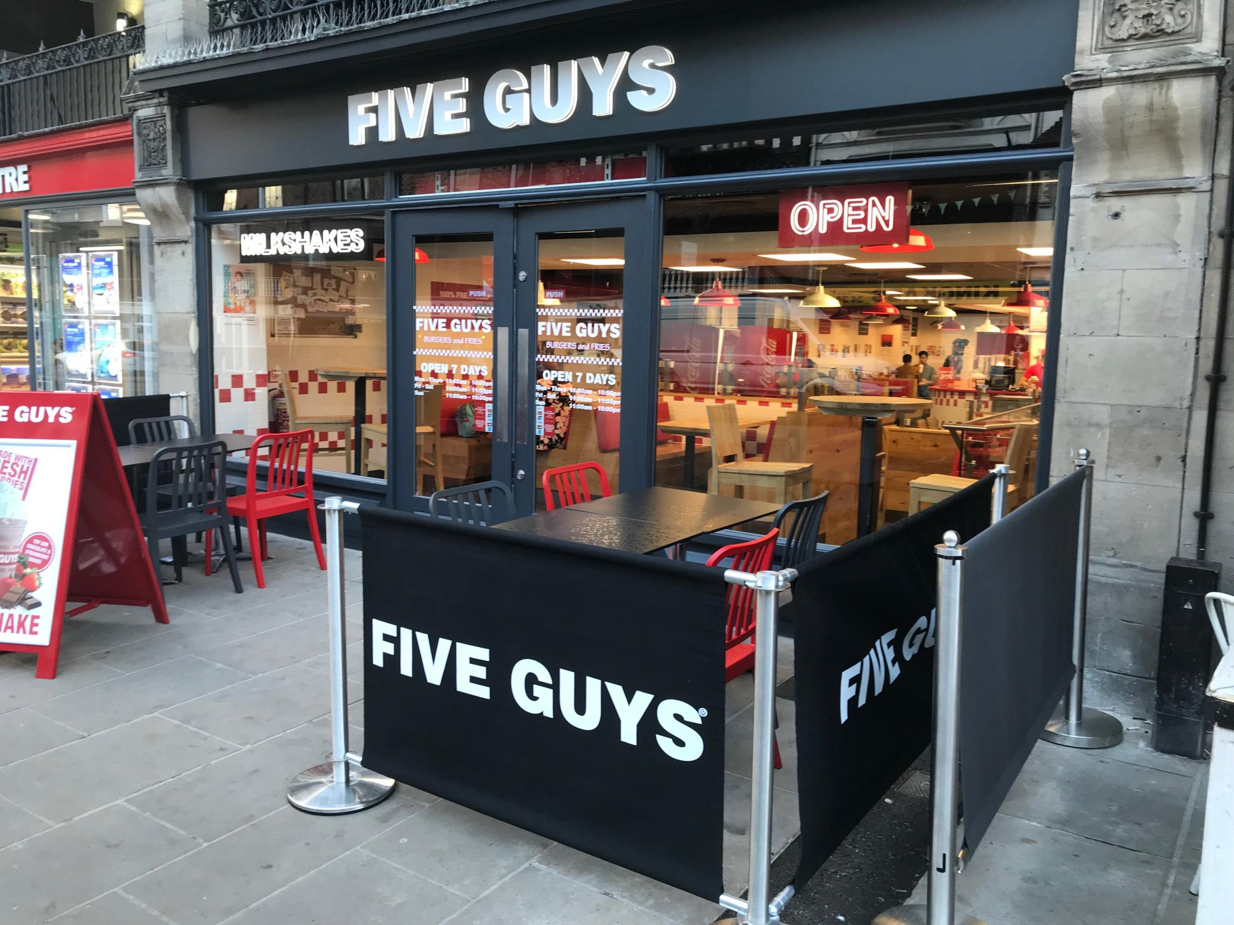 CHESTER'S BEST BURGER: Search starts at Five Guys in Bridge Street
