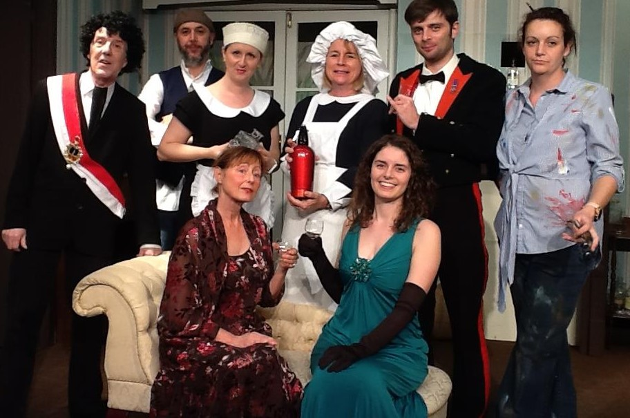 Comedic murder mystery on show in Upton