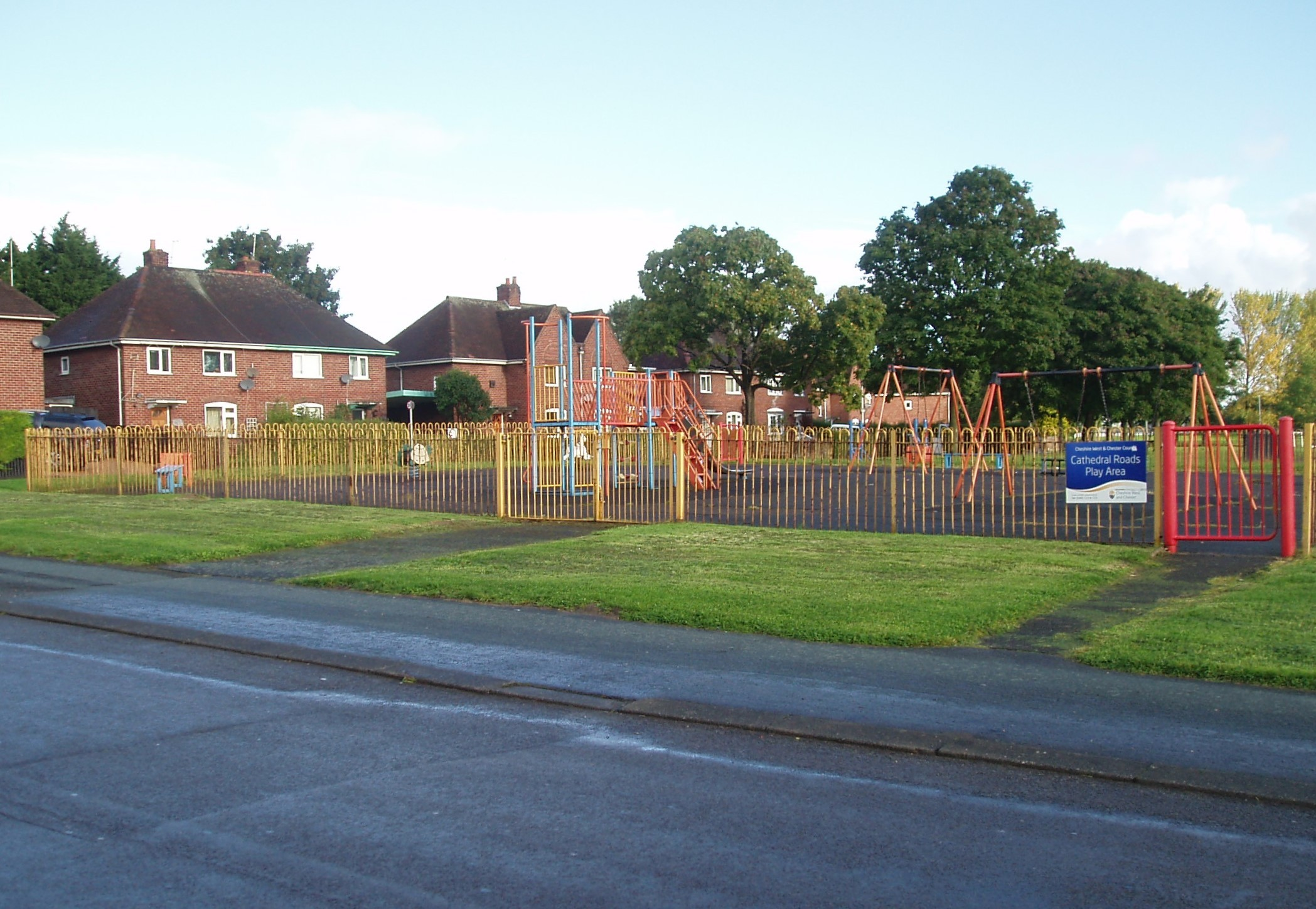 The Cathedral Roads play area in Blacon.