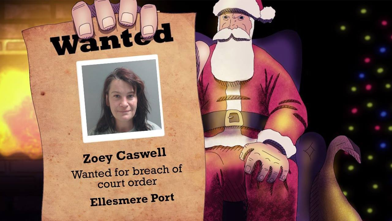 Police want to trace Zoey Caswell of Ellesmere Port.