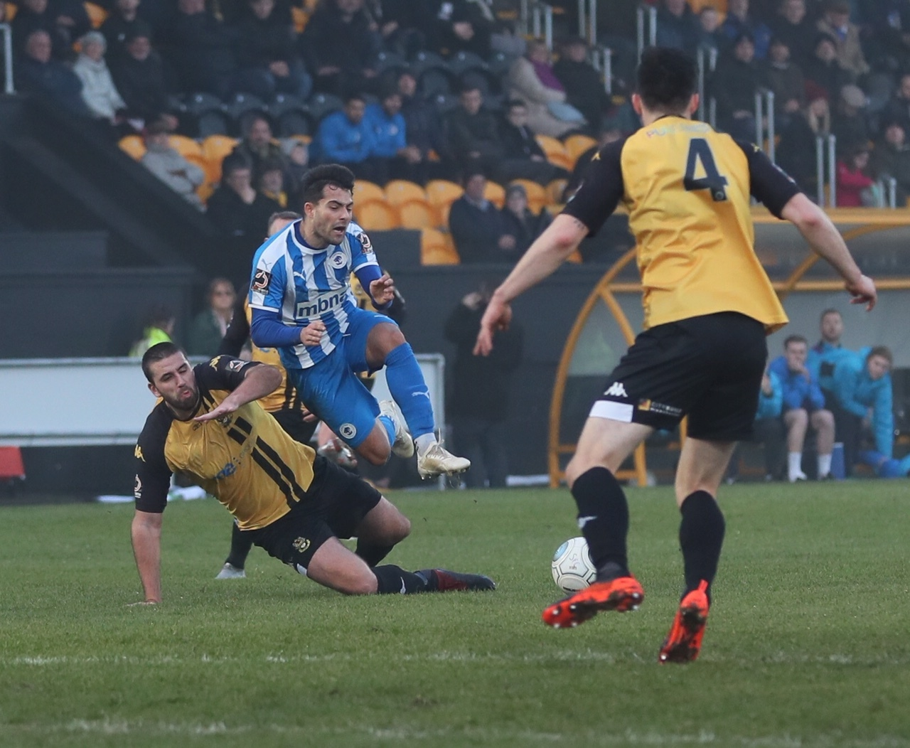 Chester lose to Southport in a Boxing Day disappointment at Haig Avenue