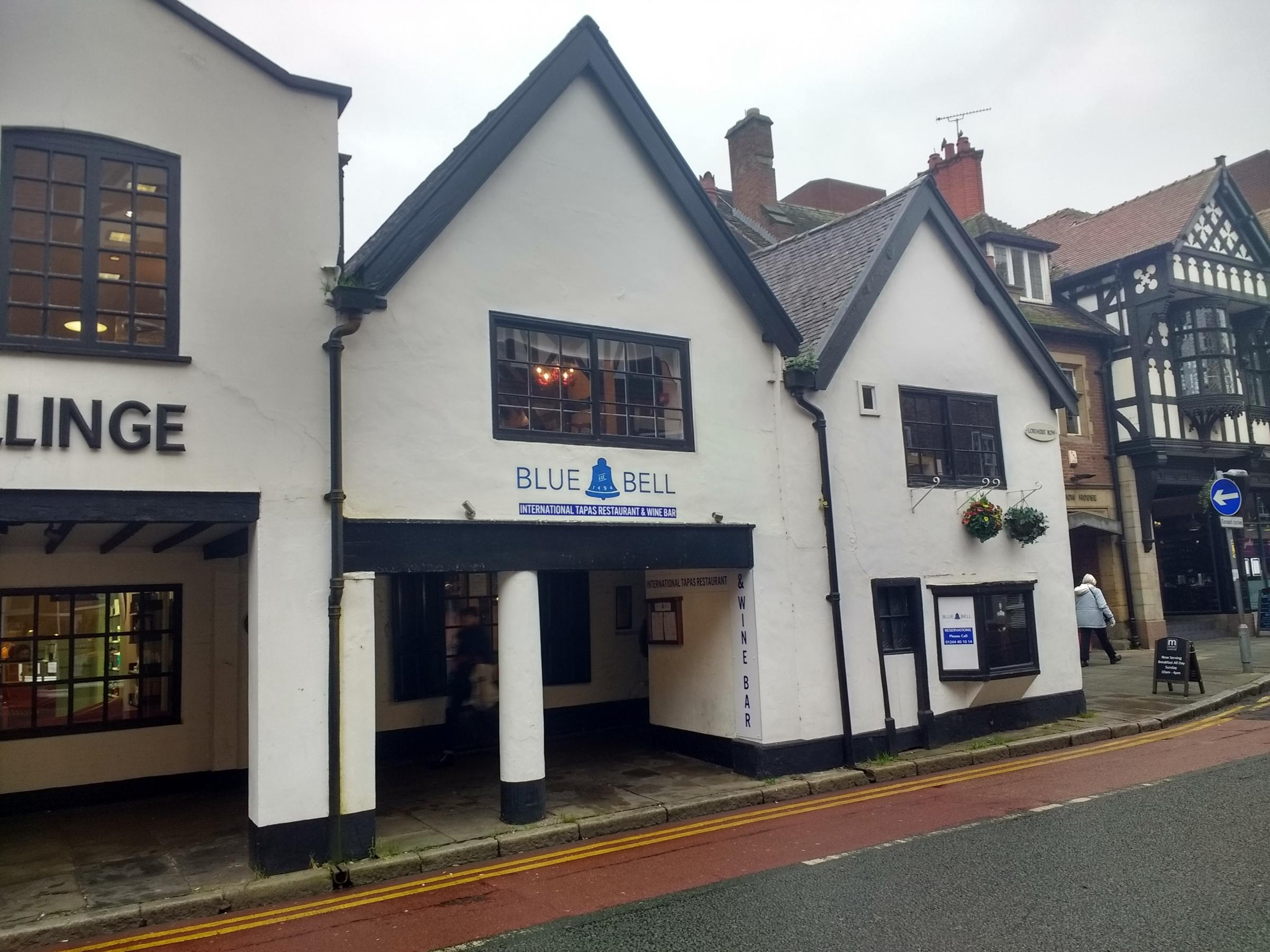 A man has been charged with burglary following a break-in at the Blue Bell pub in Chester.
