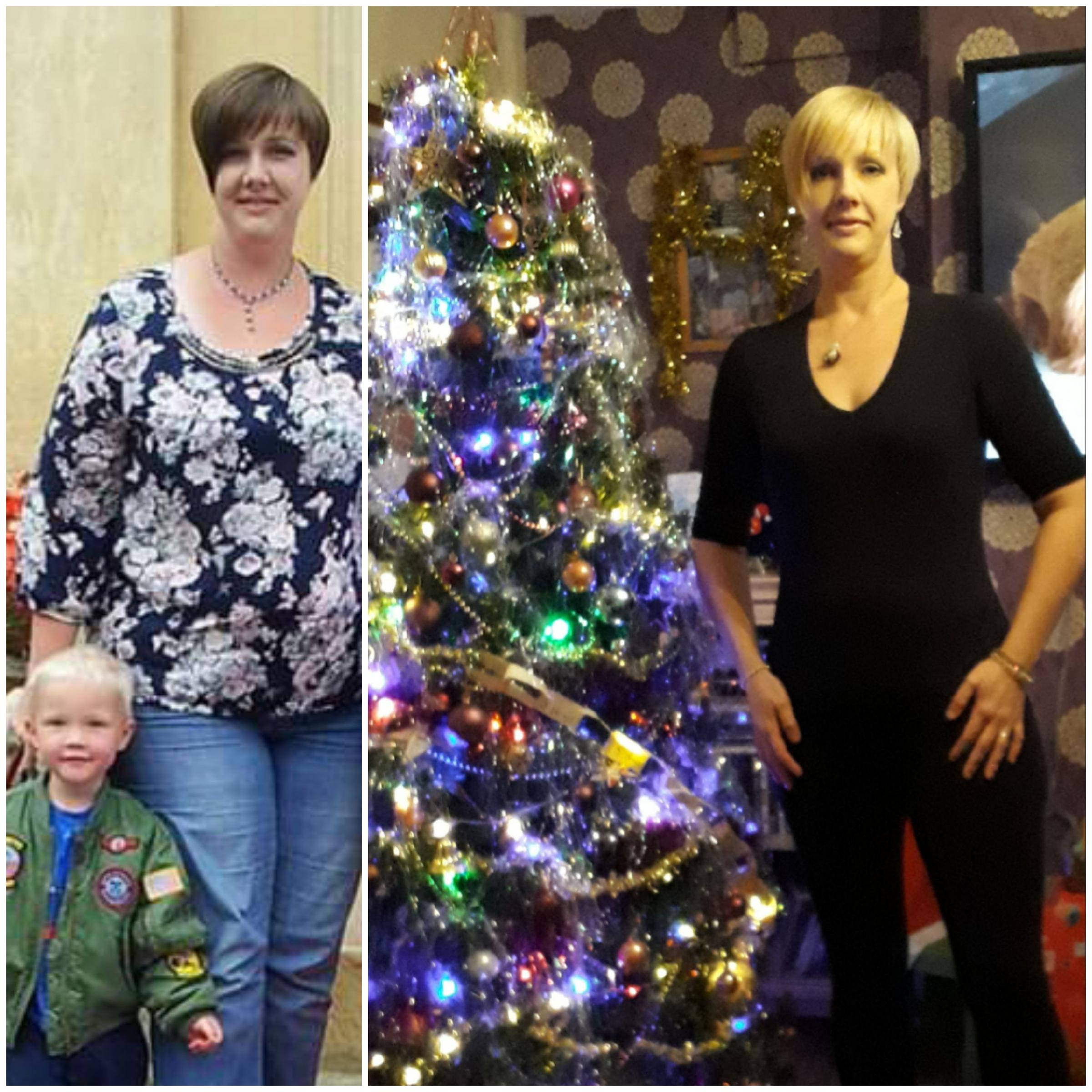 Saltney mum delighted to shed seven stone in a year