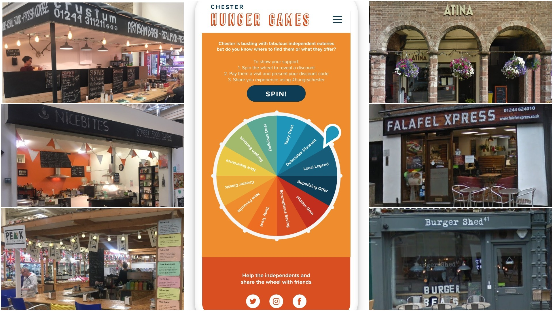 Chester Hunger Games launched – see all the restaurants taking part