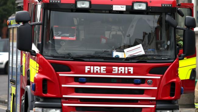 Library image of fire engine