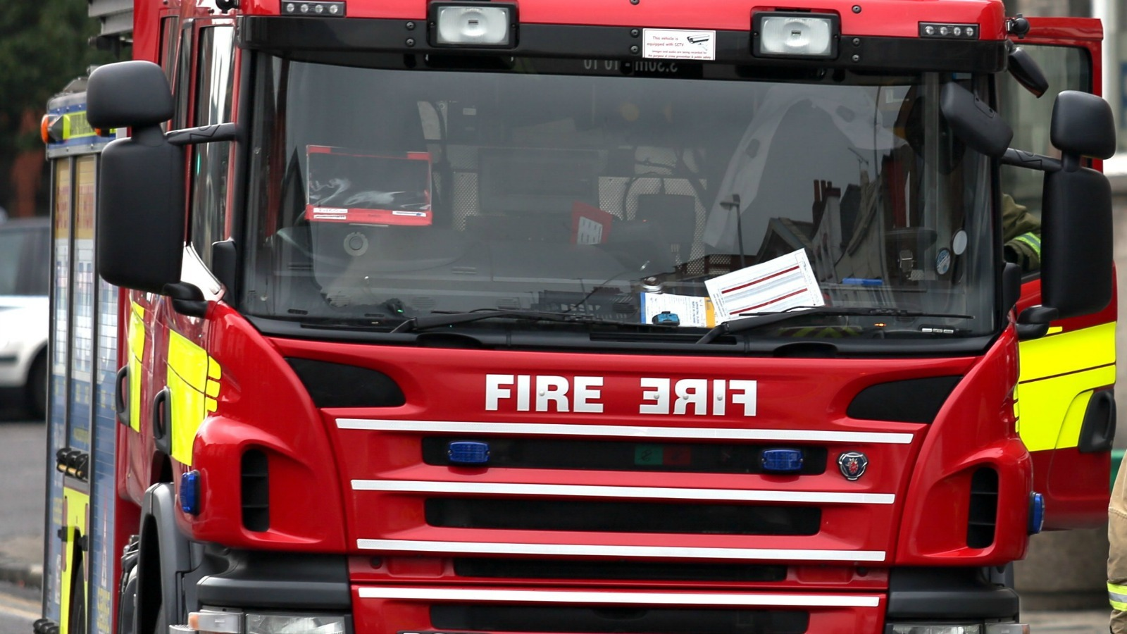 Firefighters tackle van blaze in Chester