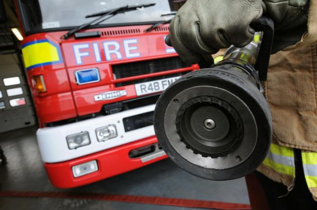 Cheshire Fire and Rescue Service has been dealing with the incident.