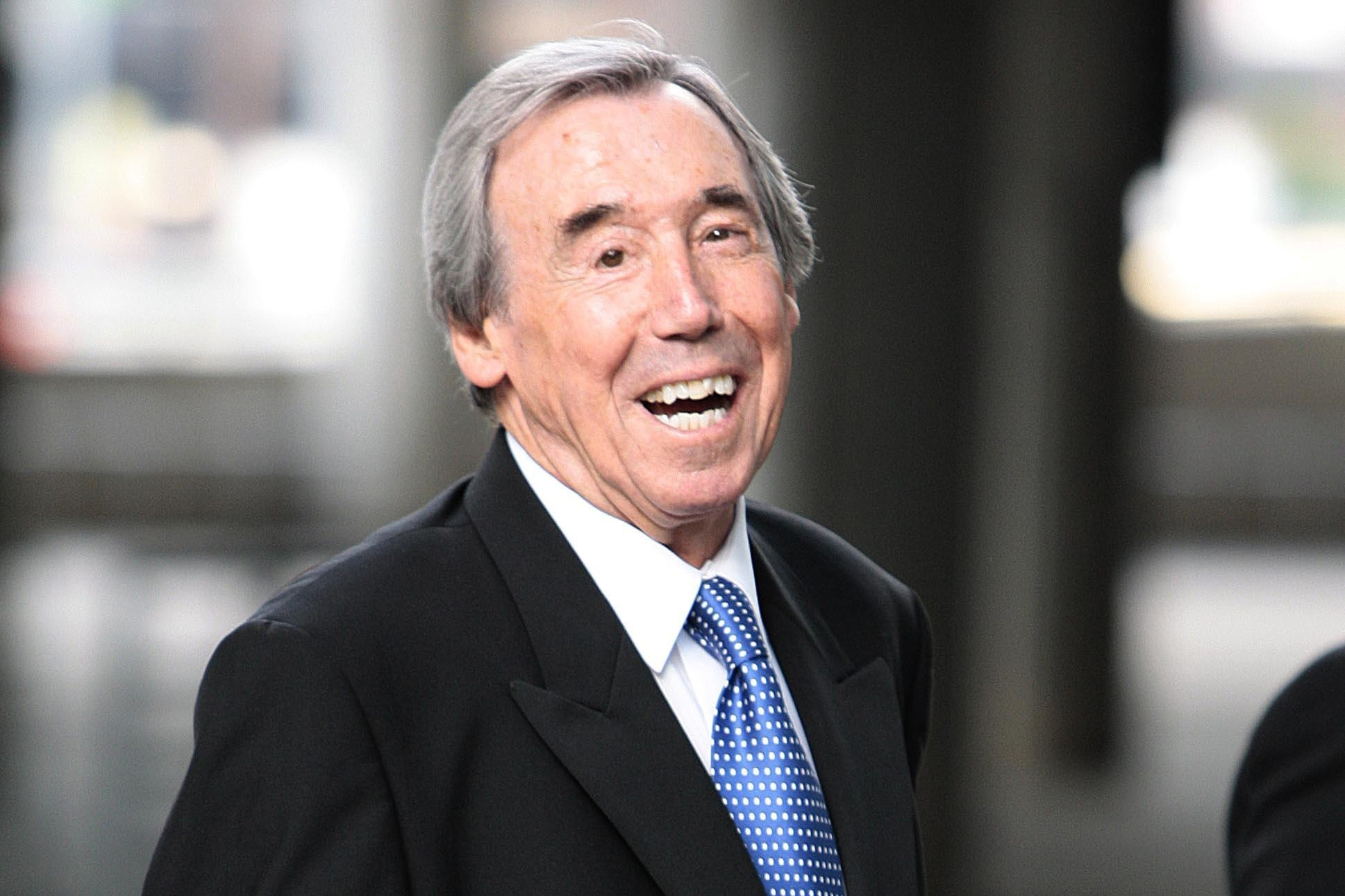 Gordon Banks offered words of goalkeeping wisdom to an eight-year-old boy