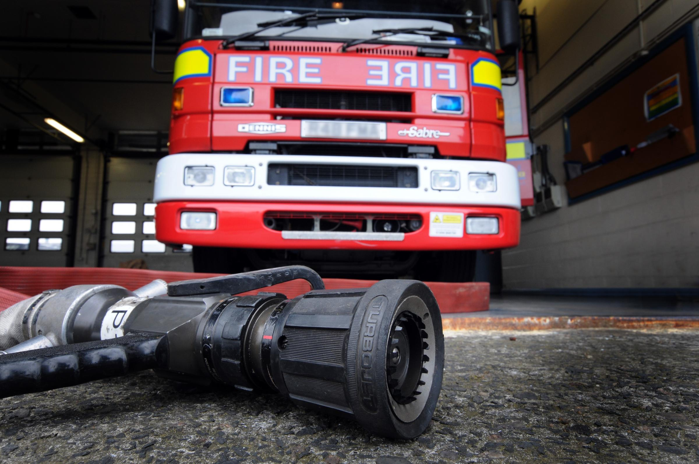 Cheshire Fire and Rescue Service was called to the incident.