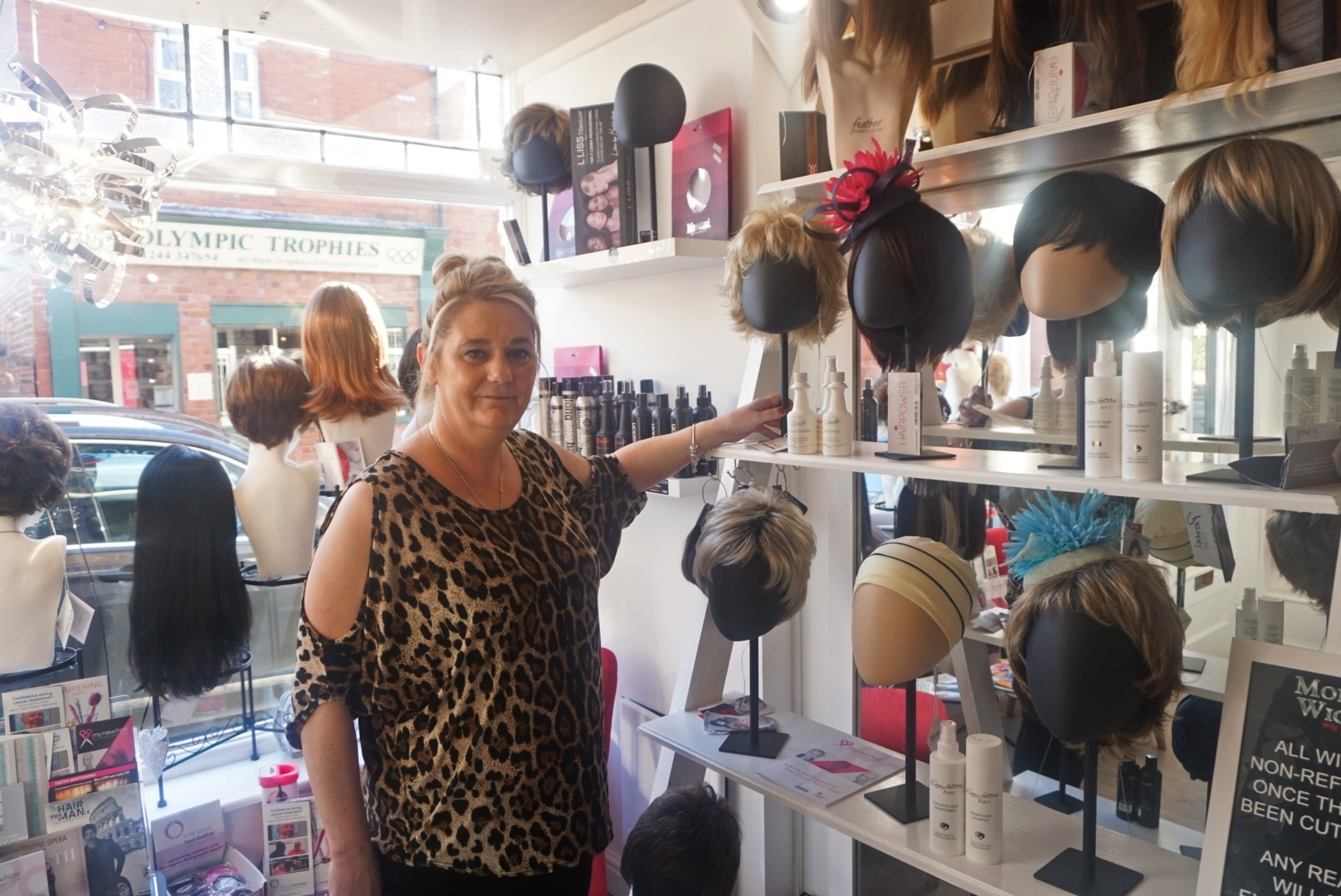 Meet the manager of the Chester wig store which has helped countless cancer patients and people with alopecia over the past year