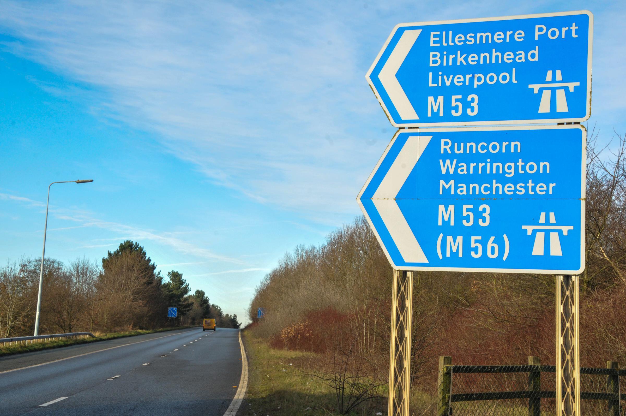Drunk Chester racegoer fought on M53 motorway
