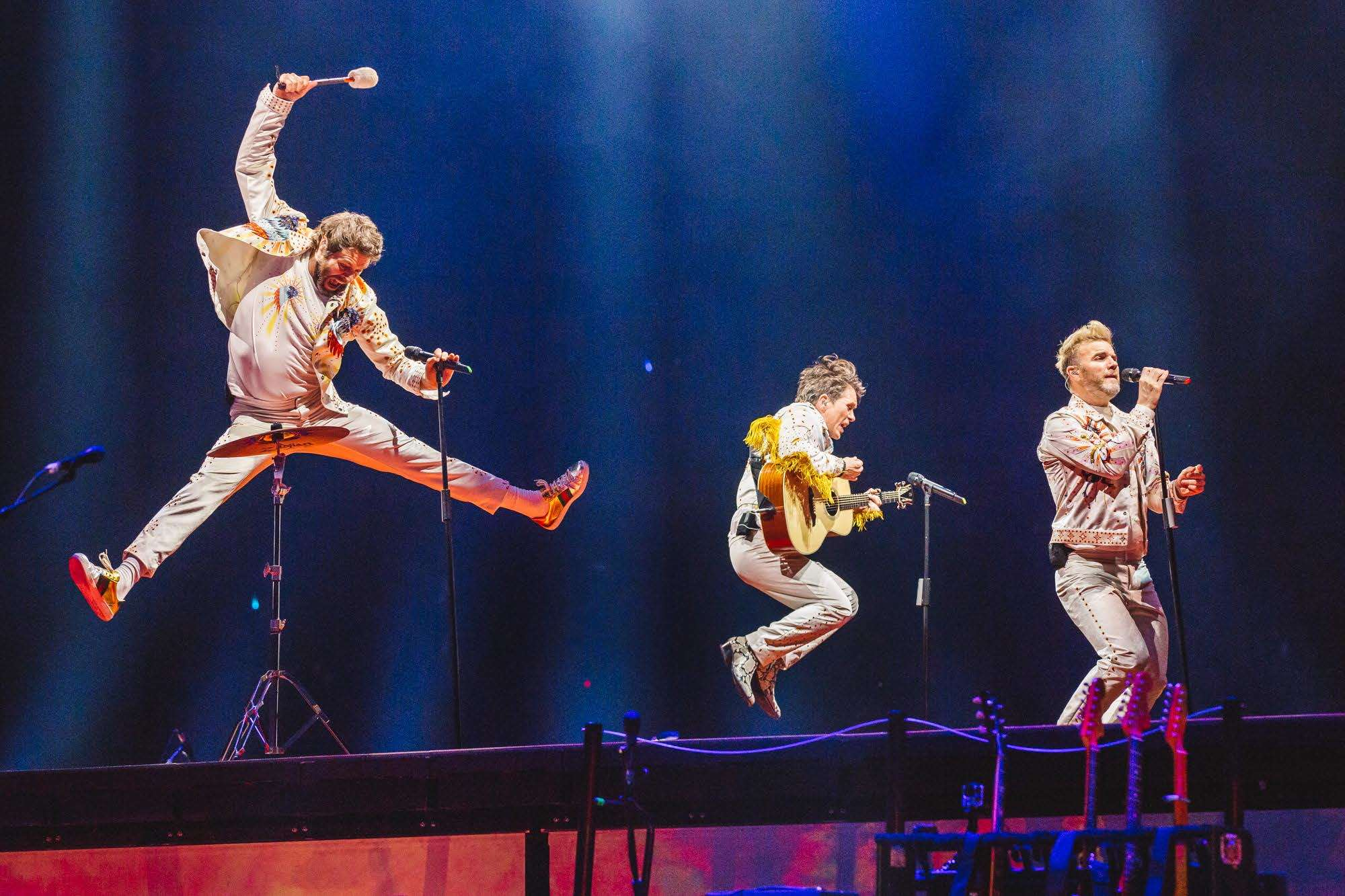 See Take That on the big screen at Vue Cheshire Oaks