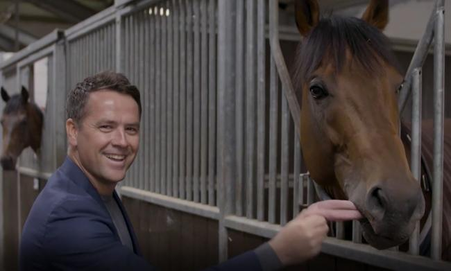 Michael Owen at Manor House Stables in Malpas.