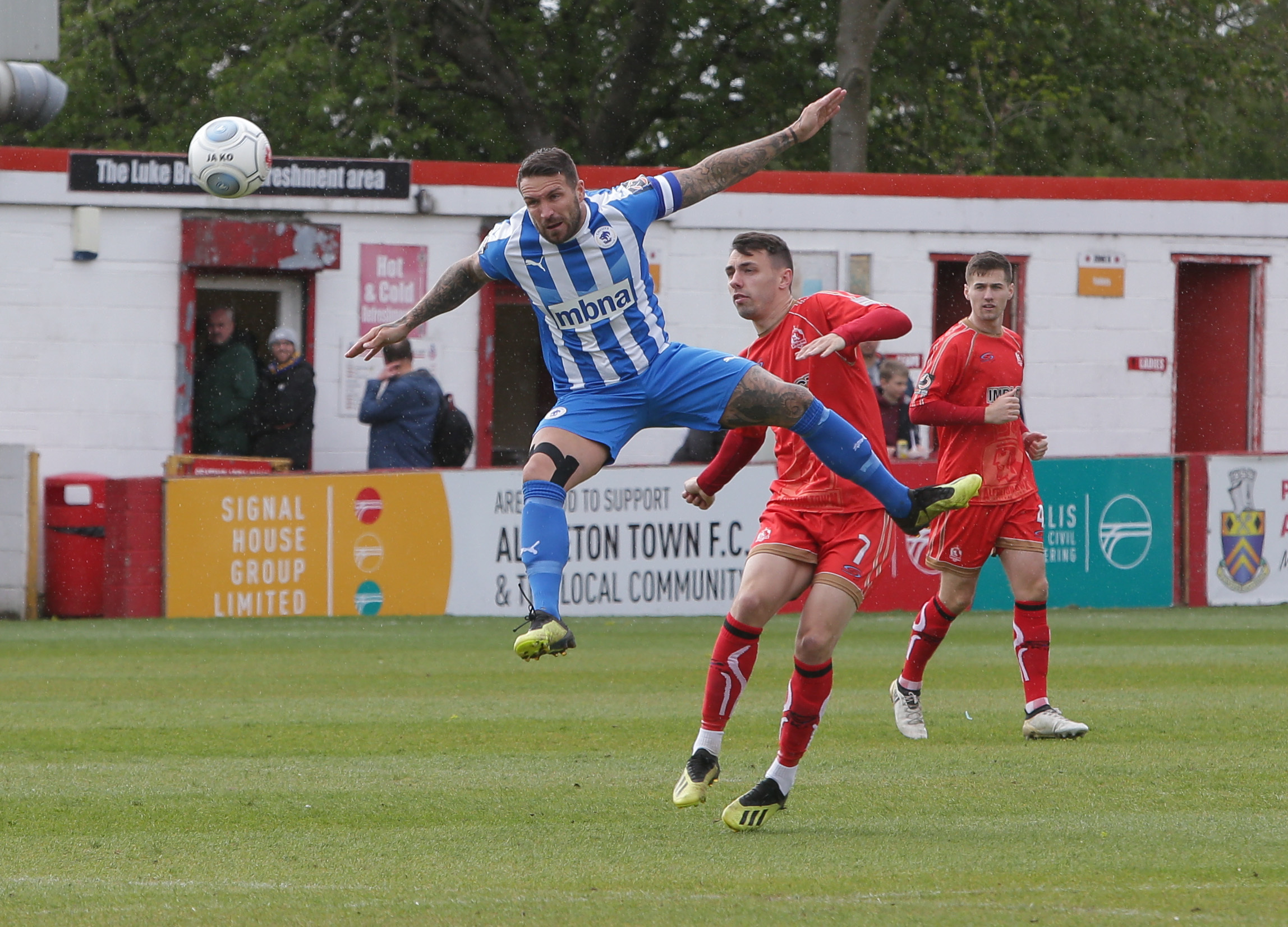 Chester finished the season with a 2-2 draw at Alfreton