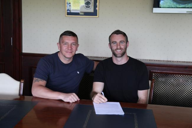 Defender Danny Livesey signs a new deal with Chester boss Anthony Johnson