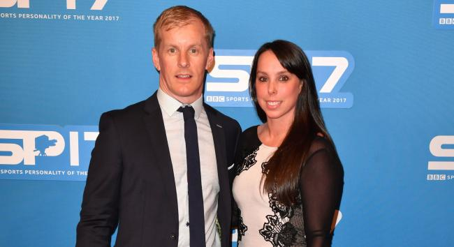 Beth Tweddle and husband Andy Allen.