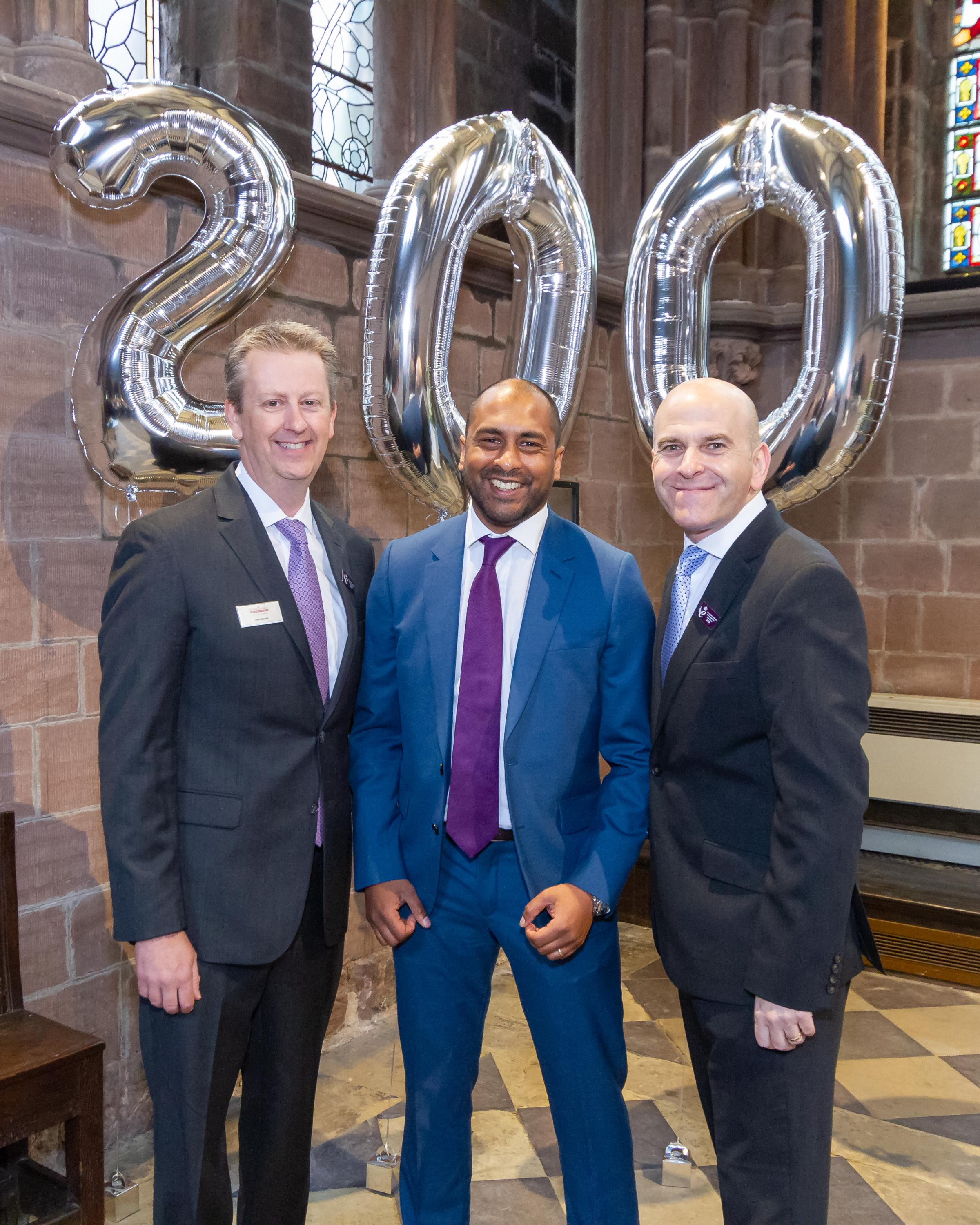 Home care firm marks 200th office opening with Chester cathedral celebration