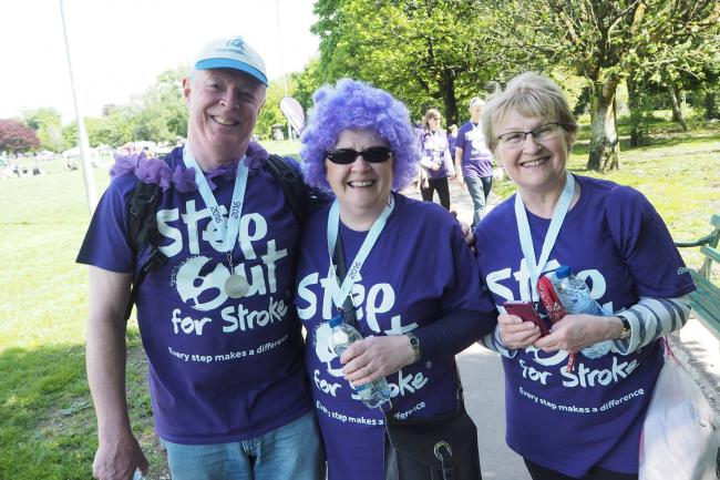 Stroke survivors in Chester are invited to take part in the fundraising event at Grosvenor Park.
