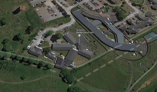 St Cyril's Rehabilitation Unit on the Countess of Chester Health Park. Image from Google.