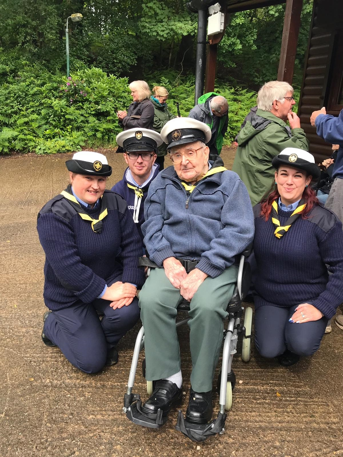 Ellesmere Port retired Veteran Scout leader celebrates silver milestone of Scouting facility he founded